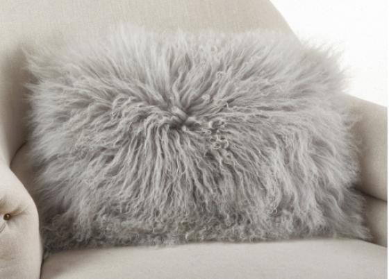 Fog Fur Pillow  main image