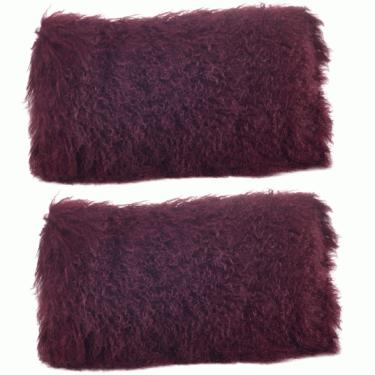 Mongolian Lamb Fur Pillows main image