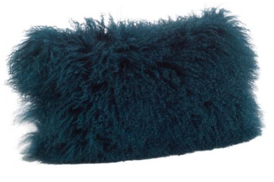 Mongolian Lamb Fur Pillow main image