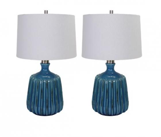 Set of Blue Lamps main image
