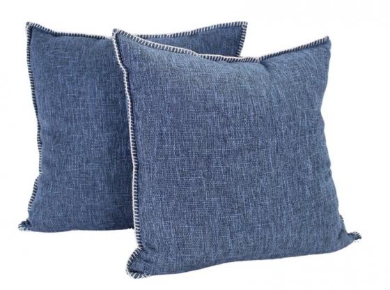 Set of Dark Blue Pillows main image