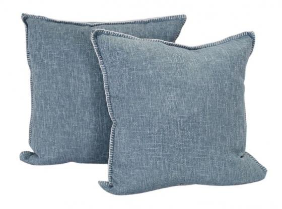 Set of Light Blue Pillows main image