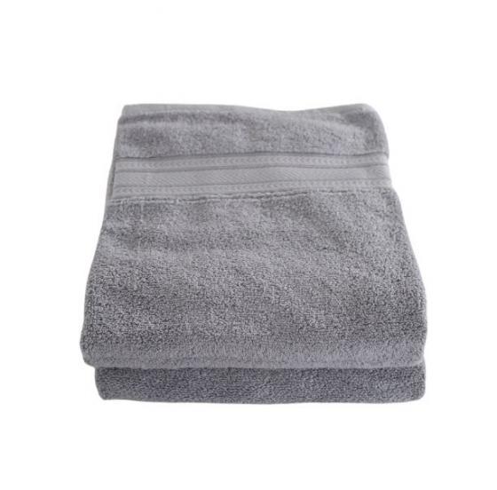 Light Grey Bath Towels main image