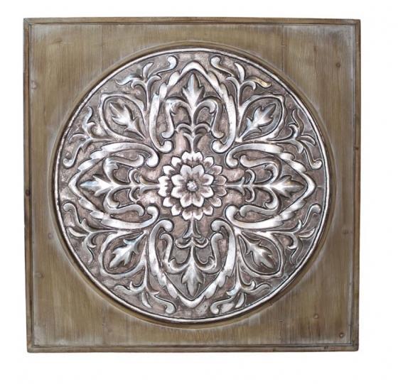 Wood & Tin Medallion Art main image