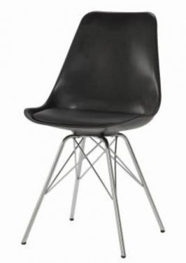Black Dining Chairs (2) main image