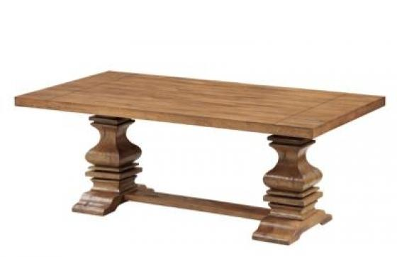 Pedestal Coffee Table main image