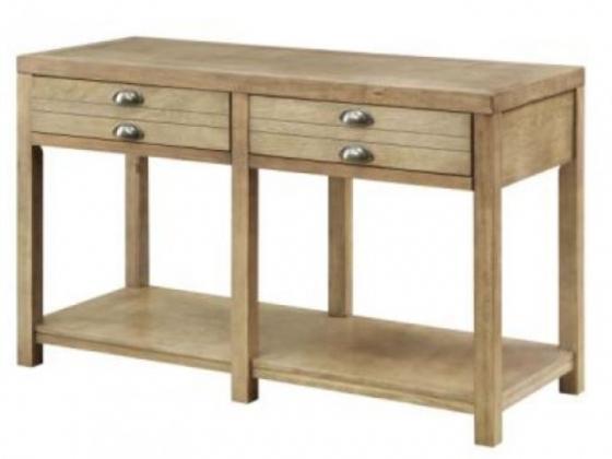 Drift Wood Sofa Table main image