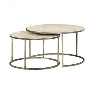Round Cocktail Table 2pc. Set Member Cost: $569.00 main image