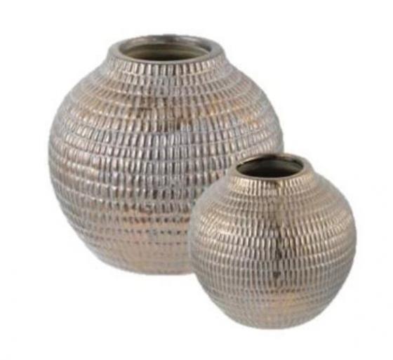 Bronze Tribal Vase Set main image