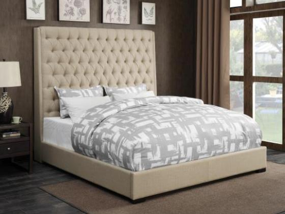 Linen-like Camille Queen Headboard Only main image