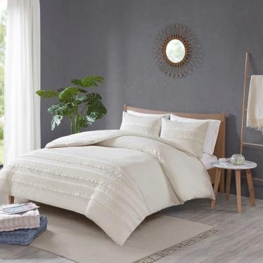Amaya 3 Piece Cotton Seersucker Comforter Set main image