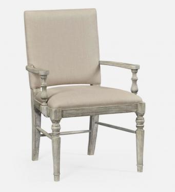 Jonathan Charles Rustic Grey Armchair main image
