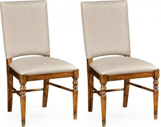 Jonathan Charles Walnut Chairs main image