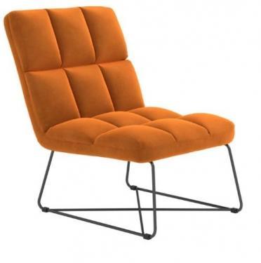 Burnt Orange Bronx Chair main image