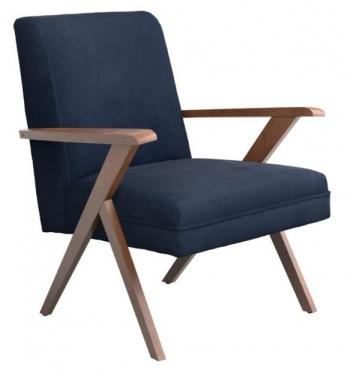 Monrovia Wooden Arms Accent Chair main image