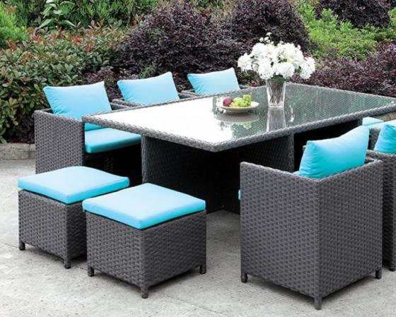 Ashanti 11 pc. Dining Patio Set main image