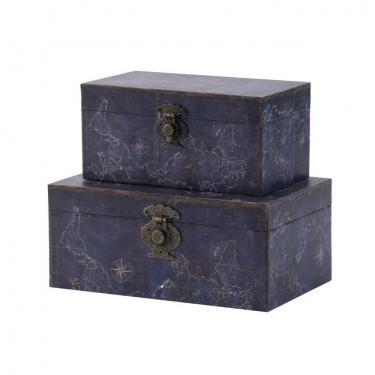 Blue Decorative Boxes, Set of 2 main image