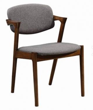 Wood & Grey Dining Chairs - Set of 4 main image