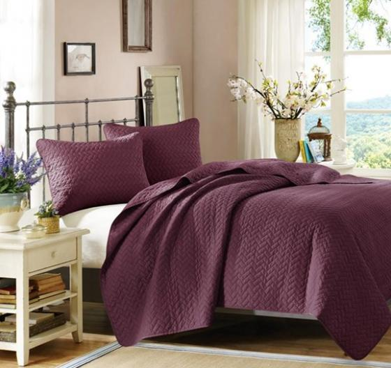 King Mulberry Velvet Touch Coverlet Set main image