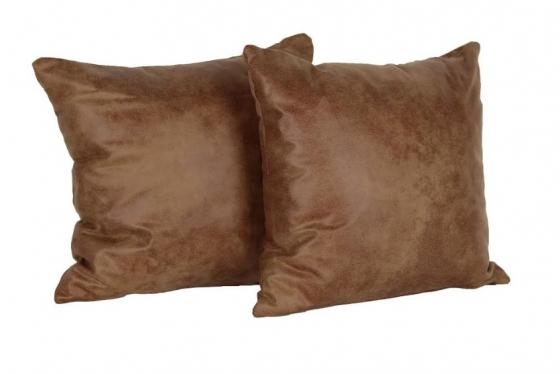 Faux Leather Pillows Set of 2 main image