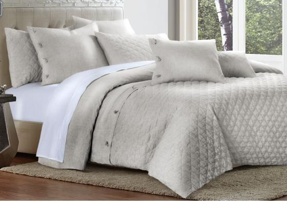 Gibson 8pc King Duvet Set Natural main image