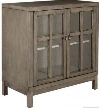 Helena Two Glass Door Credenza main image