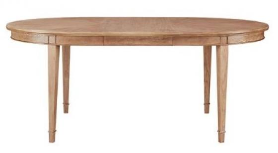 Marie Oval Dining Table - Reclaimed Wood main image