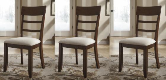 Slat Back Dining Chairs (Set of 3) main image
