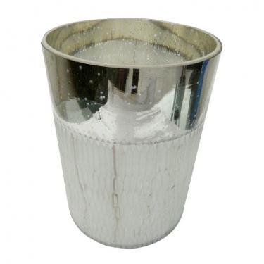 Vase,Etched Silver Large main image