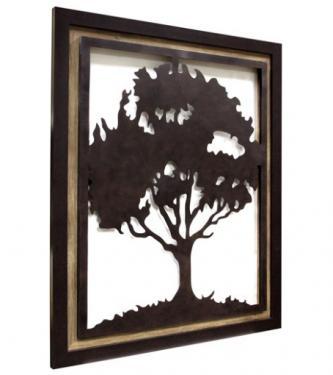 Framed Metal Tree main image