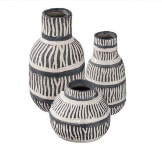 Blue and White Vase Set main image
