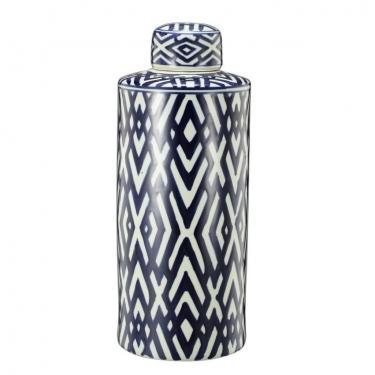 Carlyle Lidded Jar,Large main image