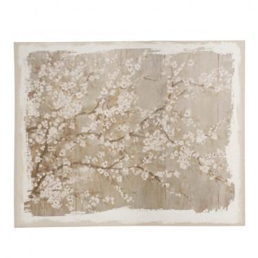 Saison White Cherry Blossom Canvas main image