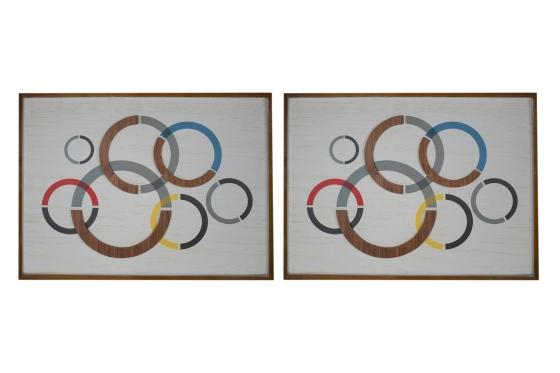 Multicolor Circle Art Set main image