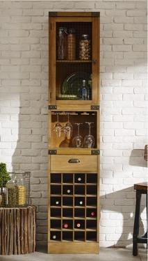 Cooper Wine Base, Glass Holder, and Hutch main image