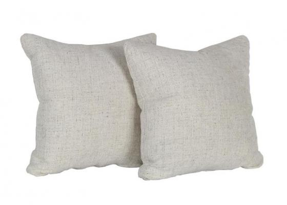 Cream and Speckled Pillows Set of 2 main image