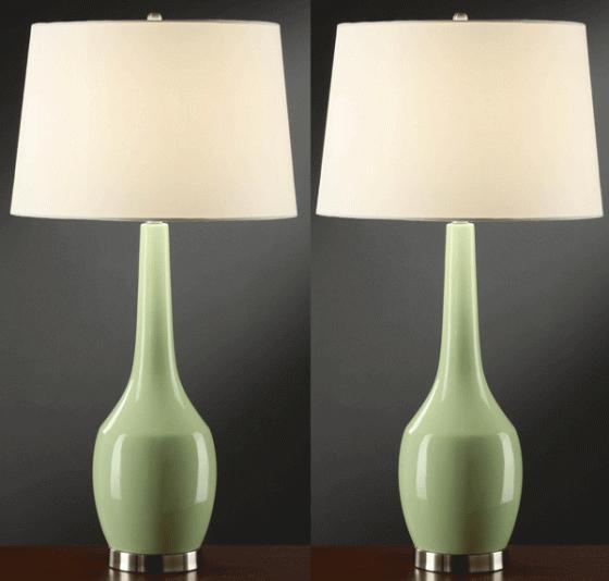 Nina Green Table Lamps main image