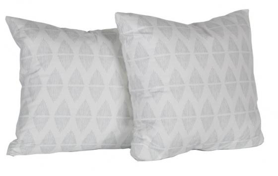 Diamond Pattern Pillows Set of 2 main image