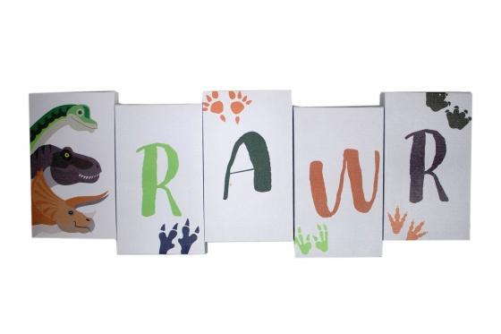"""Rawr"" Wall Art main image"