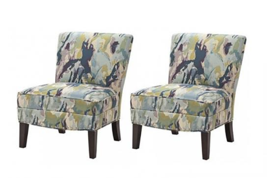 Hayden Slipper Accent Chairs main image
