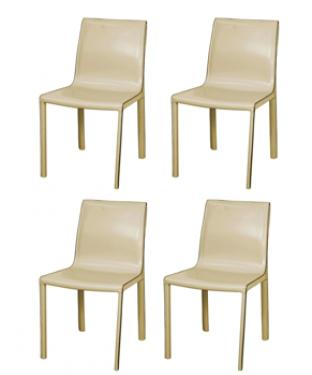 Gervin Recycled Leather Chairs main image