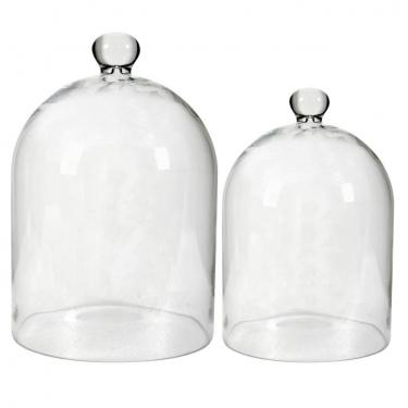 Glass Dome Set of 2 main image