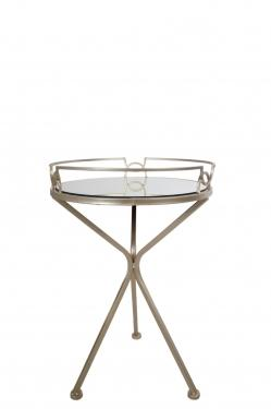 Round Glass Side Table main image