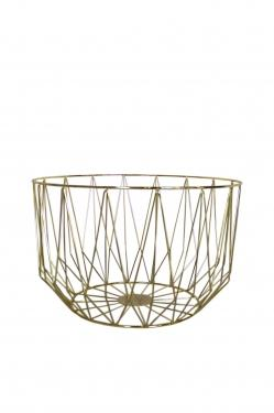 Gold Geometric Basket main image