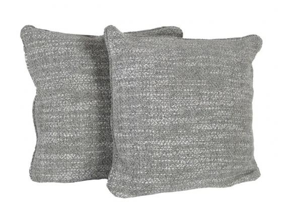 Grey and White Speckled Pillow Set of 2 main image