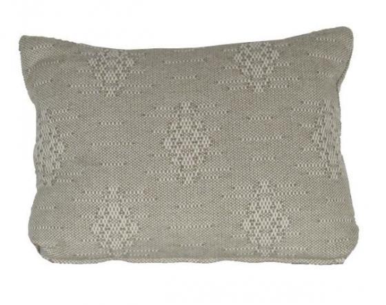 Beige Textured Lumbar Pillow main image