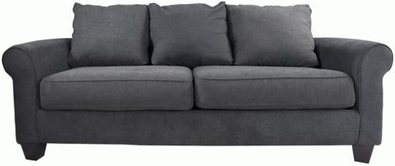 Nolana Charcoal Sofa  main image