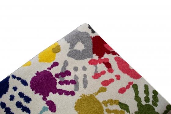 Children's Handprint Rug 5'x8' main image
