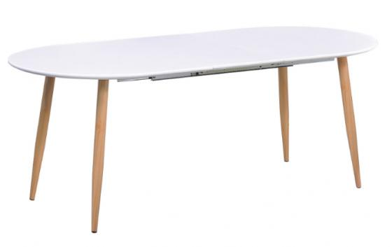 White Ion Dining Table main image