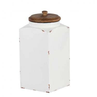 Antique White Jar Large main image